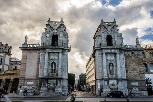 Italia Palermo Porta Felice