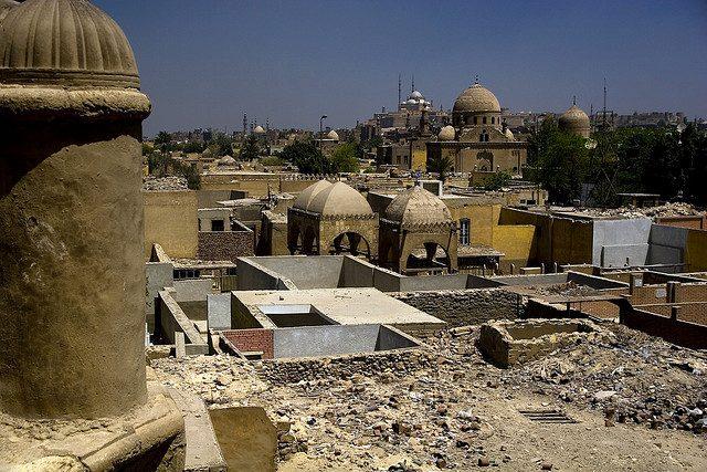 La ciudad de los muertos El Cairo