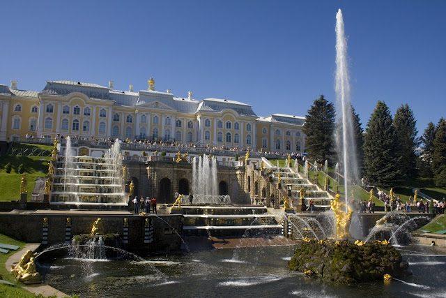 SanPetersburgo-Peterhof Sanson Petrodvorec