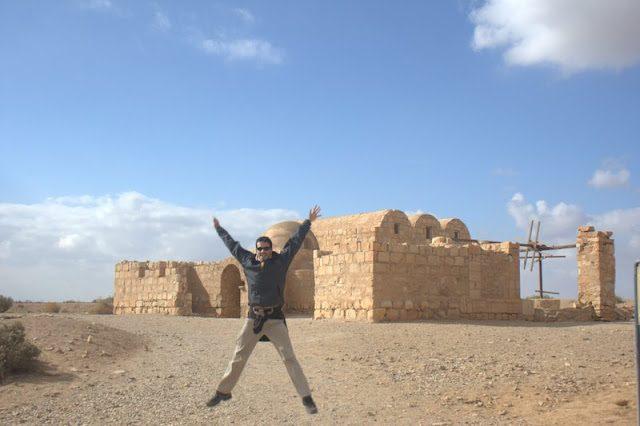 Jordania-Qasr Amra Salto