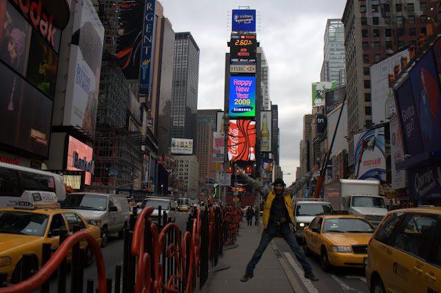 Nueva York Salto Times Square