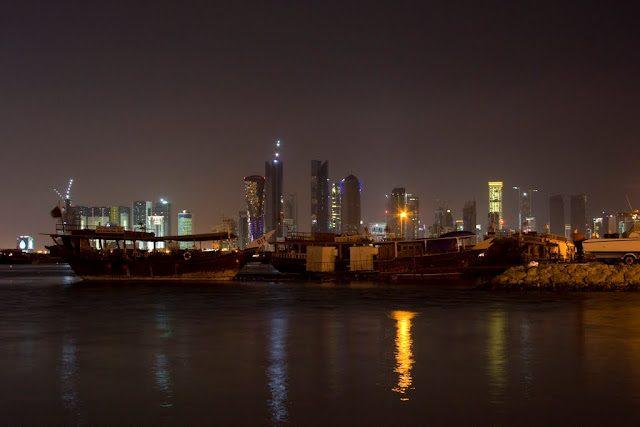 Doha-PuertoSkyLineRascacielos