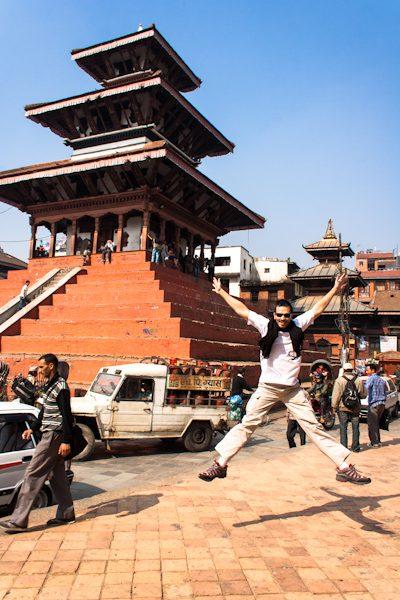 Nepal Katmandu Durbar Square Salto