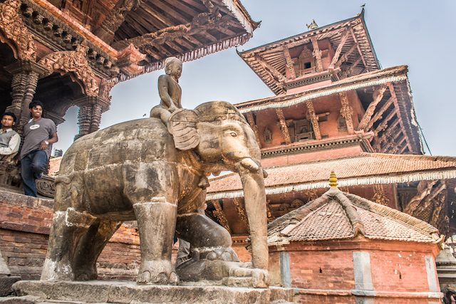 Nepal Katmandu Patan Durbar Square