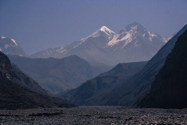 Nepal Mustang Km Vertical