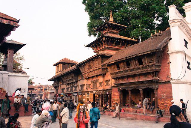 Nepal Katmandu Durbar Square