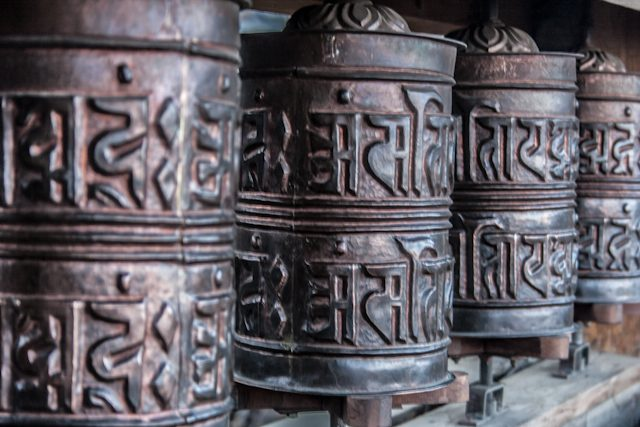 Nepal Mustang Muktinath Ruedas Oracion