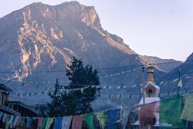 Nepal Mustang Muktinath Templo