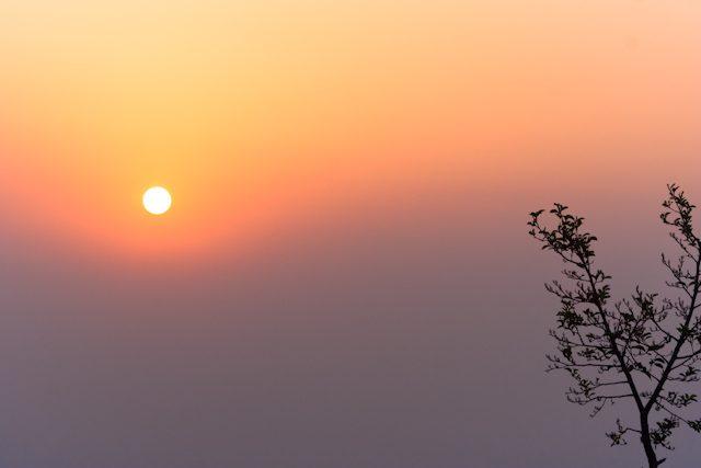 Nepal Nagarkot Amanecer