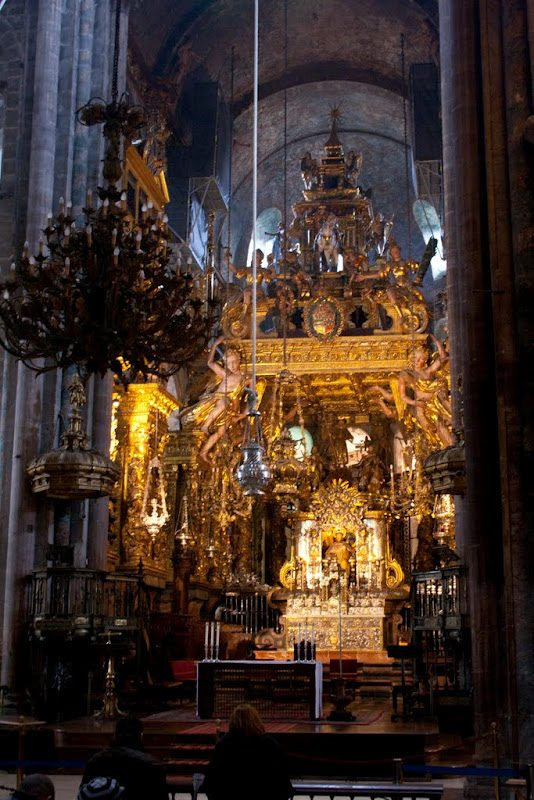 SantiagoCompostela-CatedralAltar