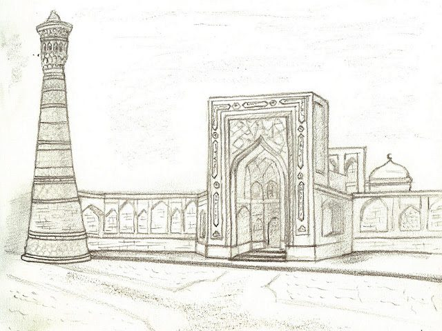 Bujara-MezquitaKalon