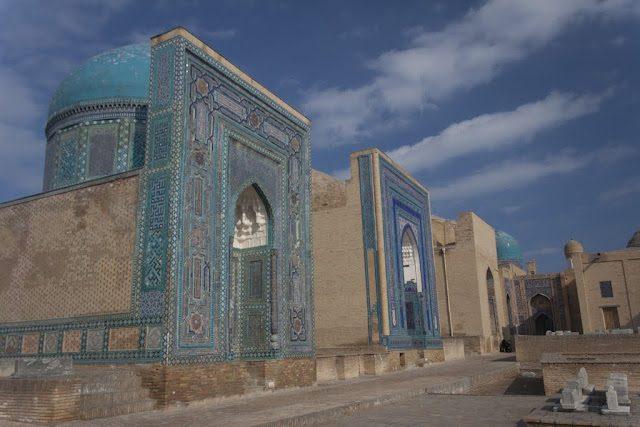Samarcanda-CementerioShah-i-Zinda