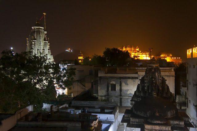 Udiapur-TemploJagdishNocturno