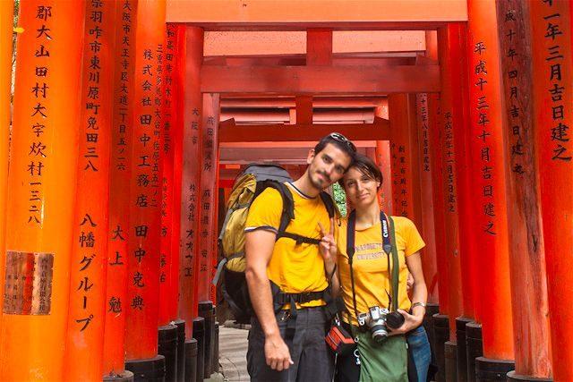 Japon Fushimi Inari Taisha Kyoto Nosotros