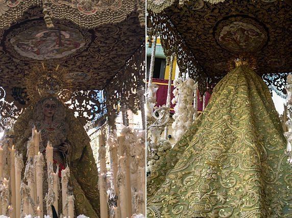 Sevilla Semana Santa Hermandad Esperanza Macarena Paso