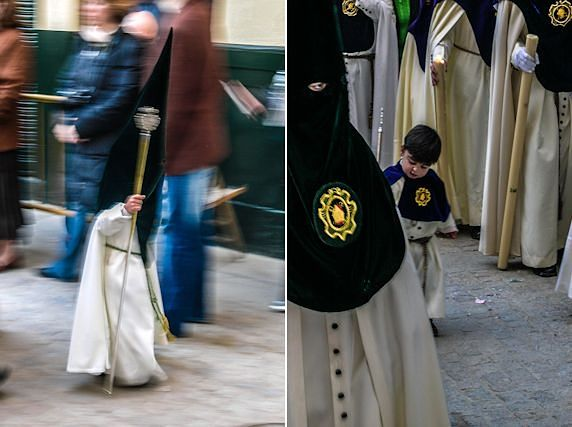 Sevilla Semana Santa Hermandad Ninos