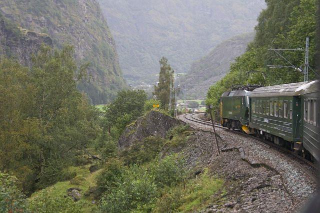 Flåmsbana Tren