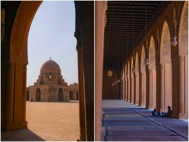 Egipto El Cairo Ibn-Tulun Mosaico