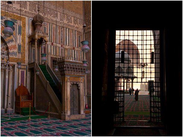 Egipto El Cairo Madraza Sultan Hasan Minbar Abluciones