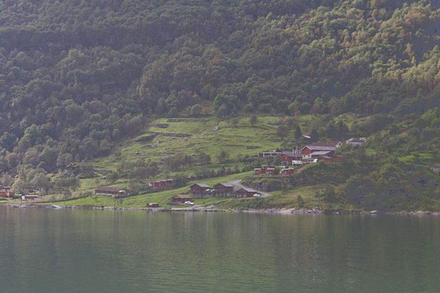 Geirangerfjord-Pueblo