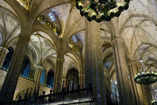 Barcelona-CatedralInterior
