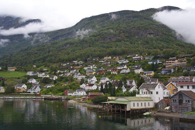 Sognefjord-Pueblos