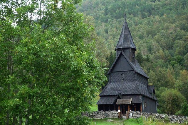 Noruega Stavkirke Urnes Completa