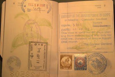 Pasaporte-Visado