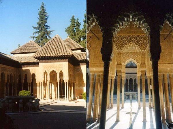 Granada Alhambra Patio Leones