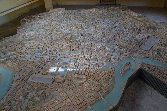 Roma-Maqueta Italo Gismondi