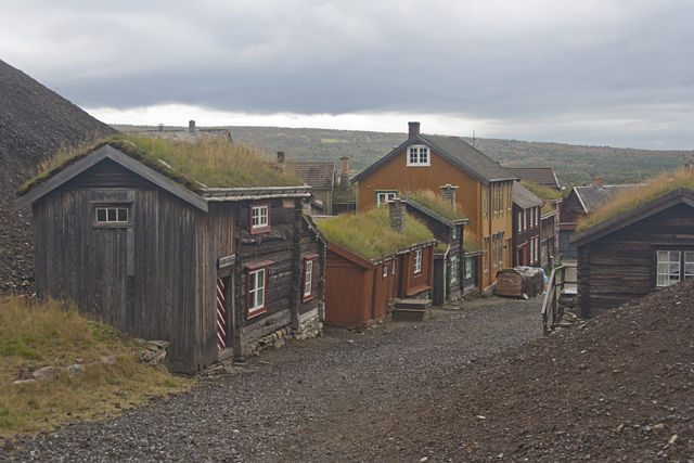 Røros Casas Mineros