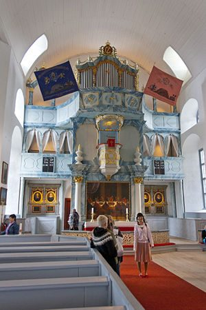 Røros - Interior Iglesia