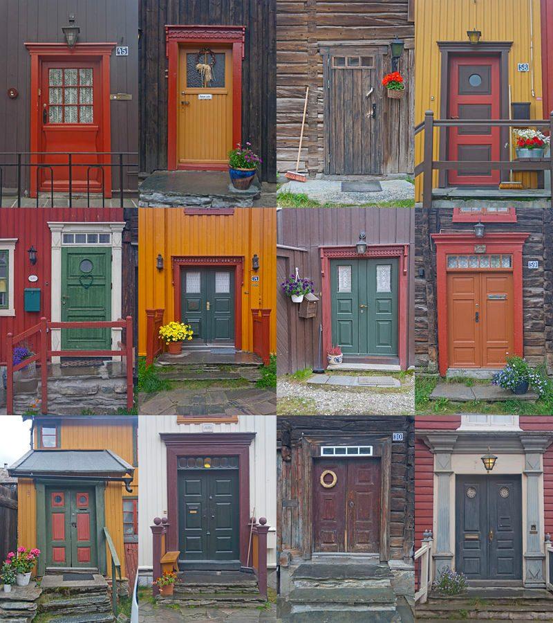Roros Puertas Colores