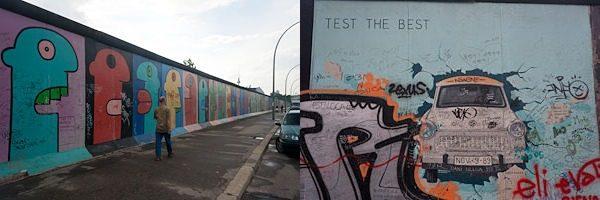 Berlin East Side Gallery Muro