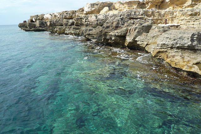 Favignana Sicilia Italia Aguas Transparentes