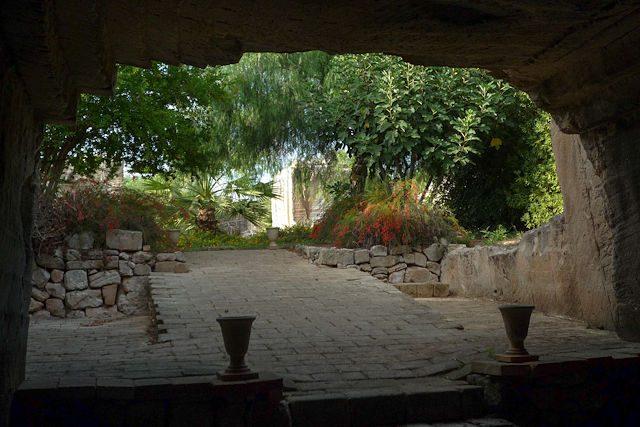 Favignana Sicilia Italia Jardines Hipogeos