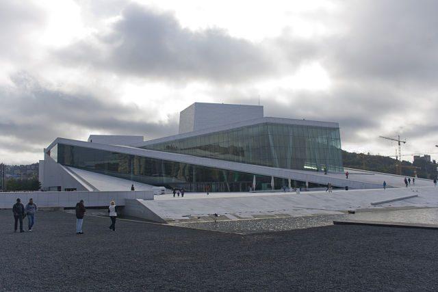 Noruega Oslo Opera House