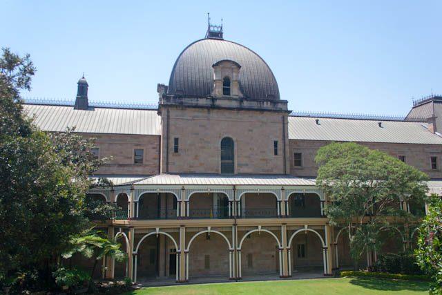 Australia-Brisbane Parlamento