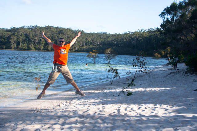 Australia-Fraser Island Lake McKenzie