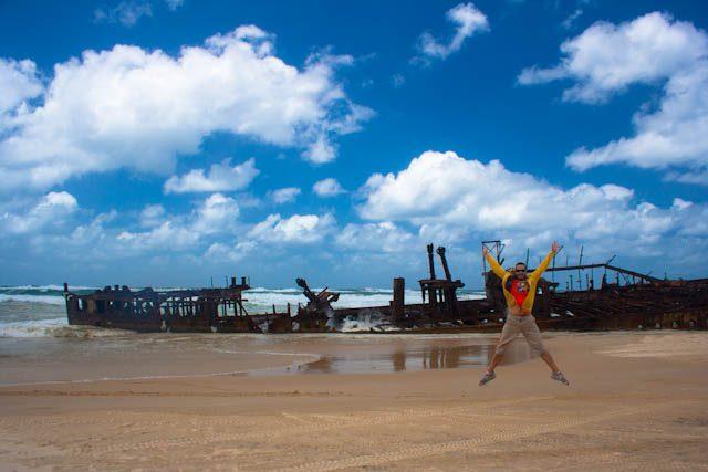 Australia-Fraser Island Maheno