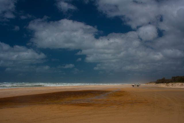 Australia-Fraser Island Playa