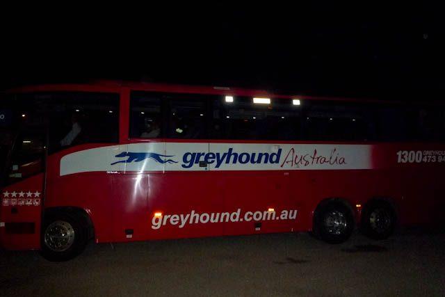 Australia-Greyhound Bus Townsville