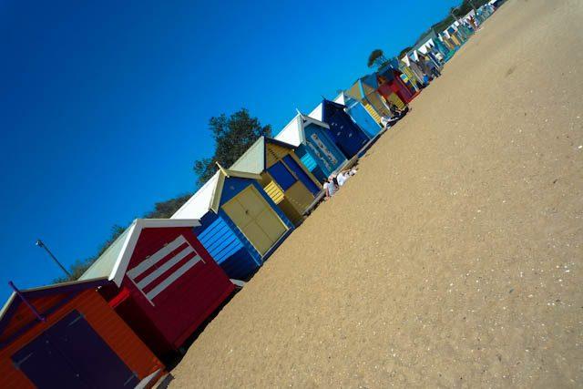 Australia-Melbourne Brighton Beach