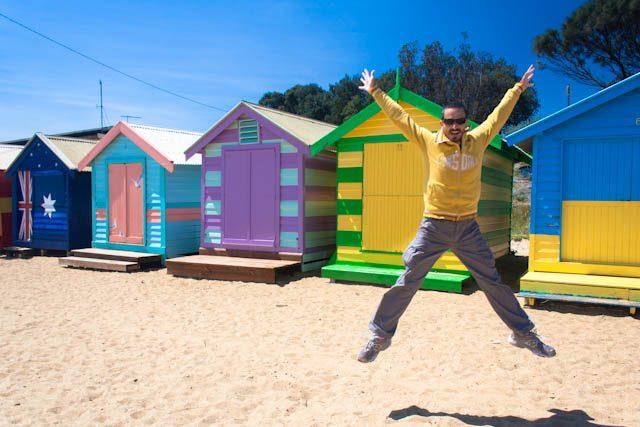 Australia-Melbourne Brighton Beach Salto