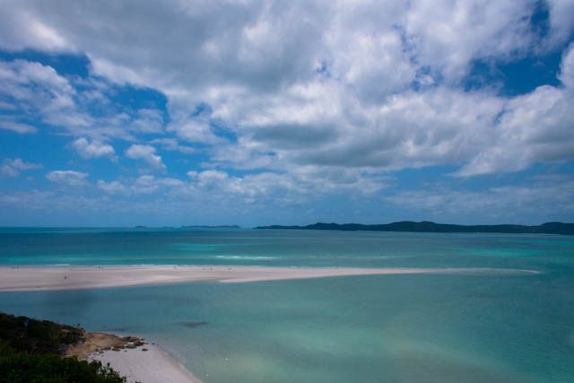 Australia-Whitsunday Island Panorama