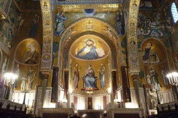 Palermo Cappella Palatina Abside