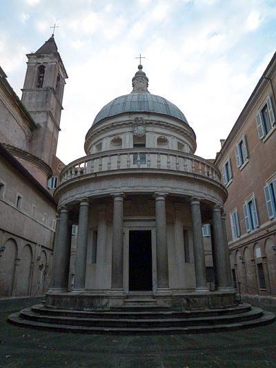 Roma Gianocolo Tempietto San Pietro in Montorio