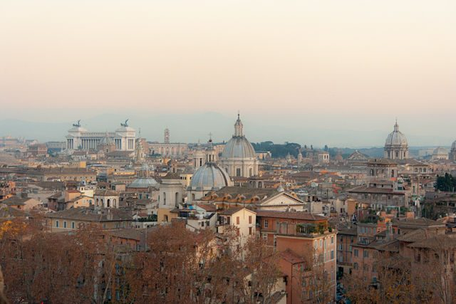 Roma Panorama Castel Sant'Angelo