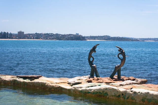 Australia-Sidney Manly Beach