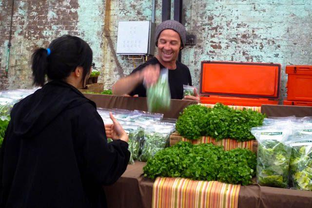 Australia-Sidney Eveleigh Market Vendedor